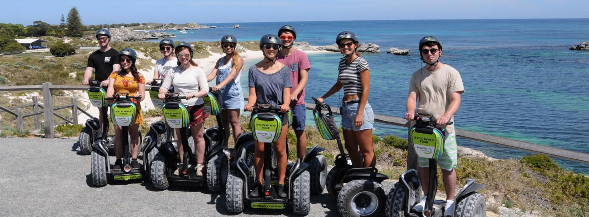 ROTTEST ISLAND SEGWAY tours people