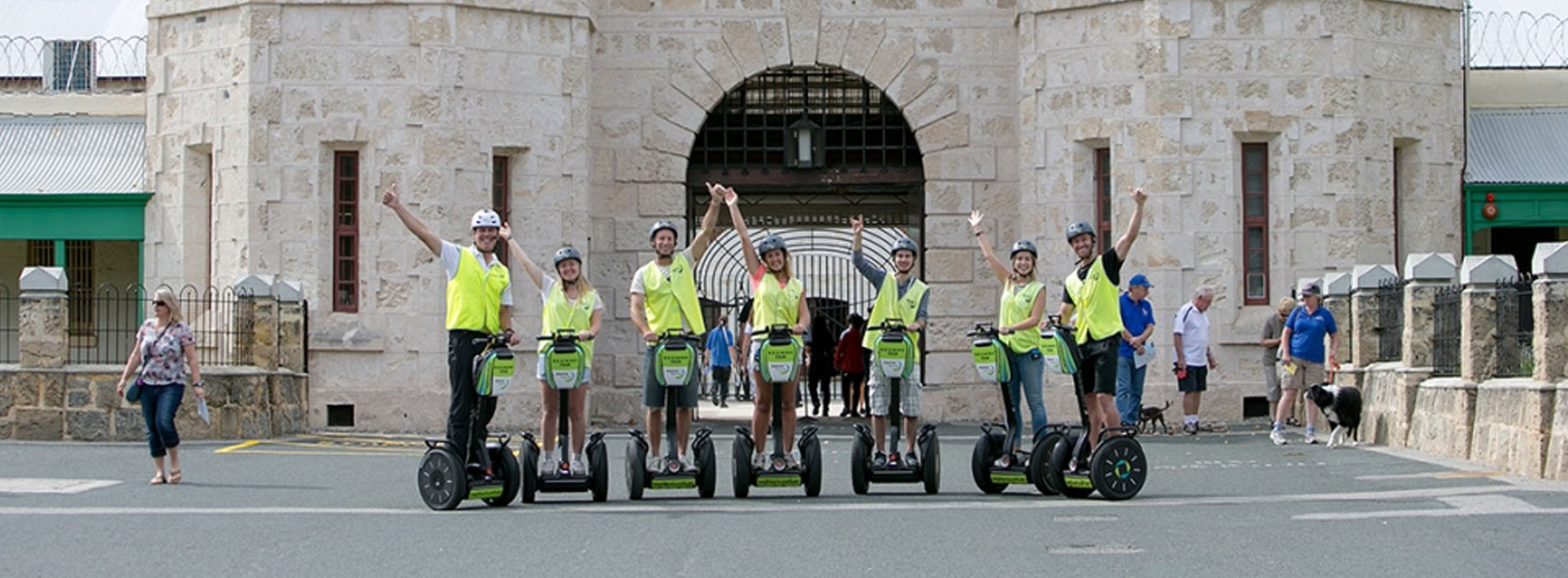 SEGWAY ABSOLUTE FREMANTLE TOURS prison photo