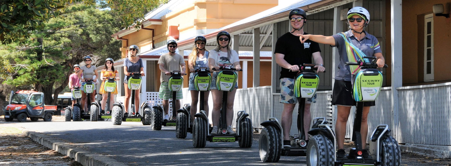 Segway Tours on Rottnest Island Thomson Bay