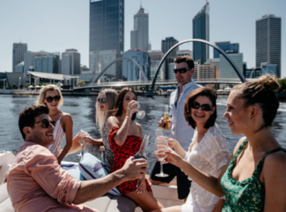 NAIAD BOAT CHARTER PERTH TOURS WINE TASTING CITY