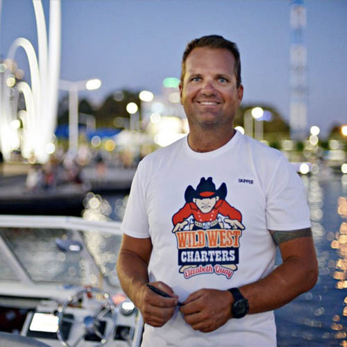 INFINITY DAVE OWNER PERTH BOAT HIRE