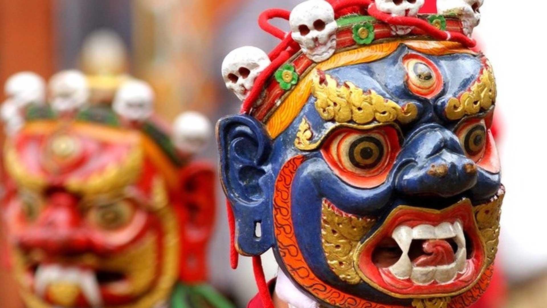 Bhutan-masks